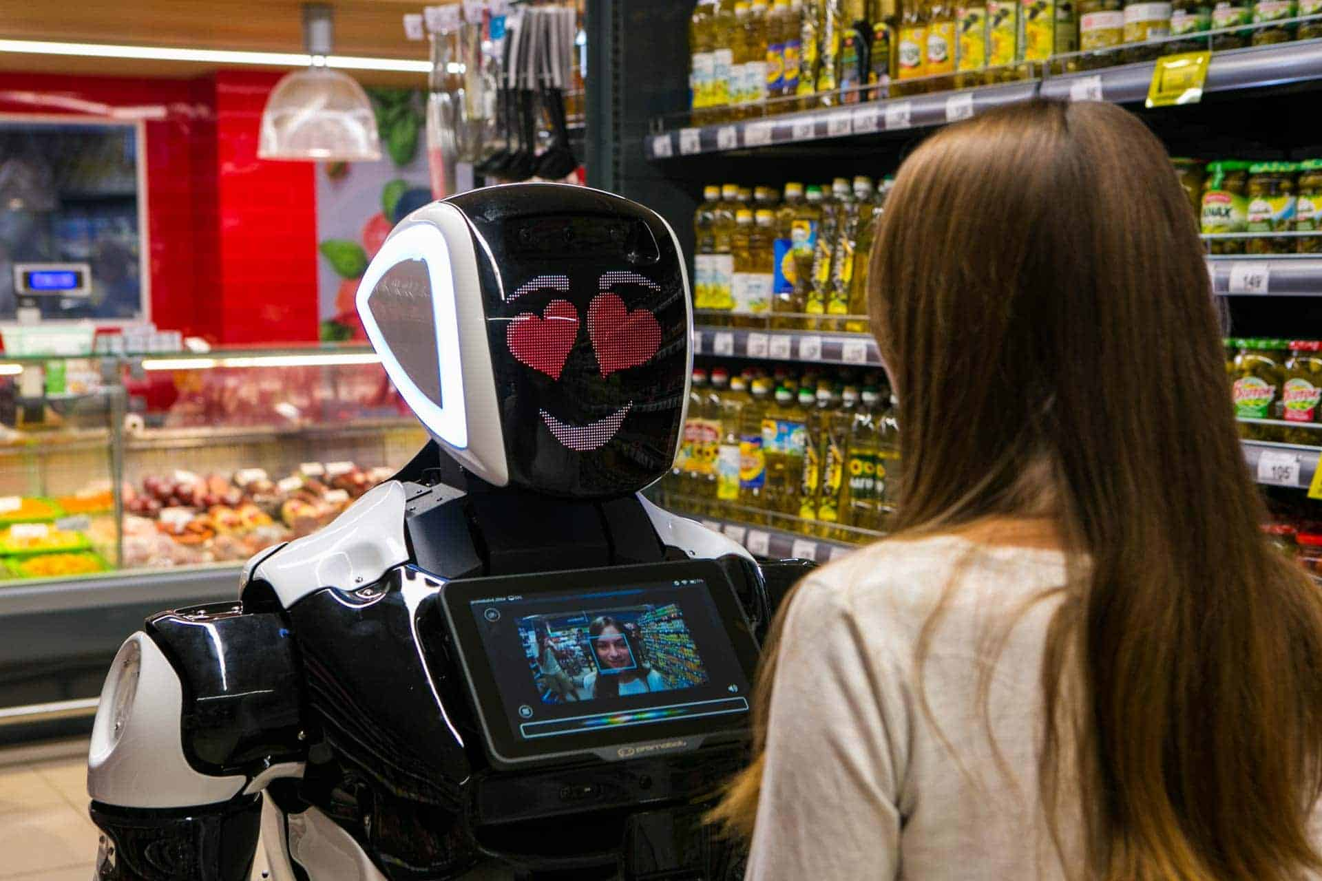 Robô para o varejo