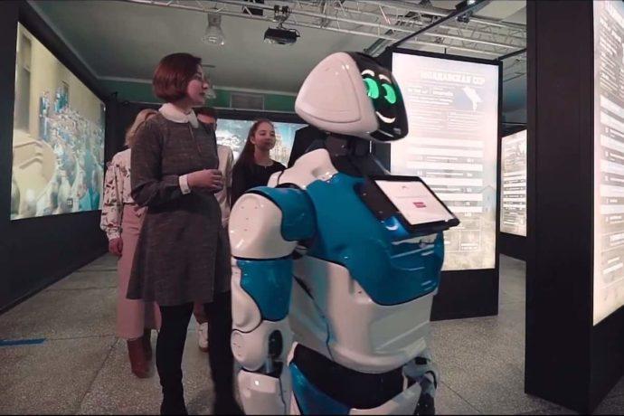 Robôs como guias em museus: Maior interação com o público